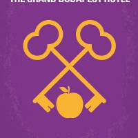 No347 My The Grand Budapest Hotel minimal movie po Art Prints & Posters by Chungkong Art