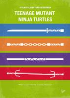 No346 My Teenage Mutant Ninja Turtles minimal movi