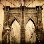 """Brooklyn Bridge Nostalgia"" by JessicaJenney"