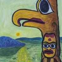 Beak Totem Art Prints & Posters by Rudy Rucker