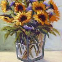 520903 Konnie Kim_Summer Bouquet 4 Art Prints & Posters by Konnie Kim