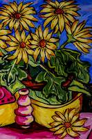 yellow_flower_and_woodenshoe_3
