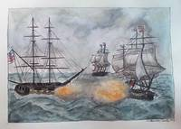 Historic Ship Battle (c)2014