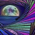 """moon vista"" by DCLWolf"