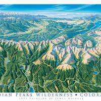 Indian Peaks Wilderness, Colorado Art Prints & Posters by James Niehues