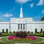 """Nashville Temple and Gardens"" by dbwalton"