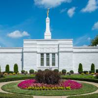Nashville Temple and Gardens Art Prints & Posters by D. Brent Walton