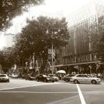 """Orchard Road Singapore, Black and white"" by sghomedeco"