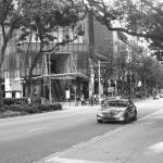 """Orchard Road Singapore, monochrome"" by sghomedeco"