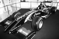 Formula 1 Race car, monochrome