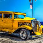 """1930 Chevy Street Rod Yellow"" by JZaringPhoto"