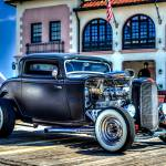 """1930 Ford Coupe Street Rod Black (1)"" by JZaringPhoto"