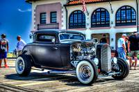 1930 Ford Coupe Street Rod Black (1)