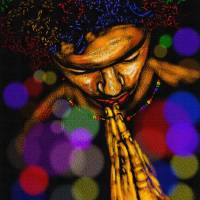His Workmanship Art Prints & Posters by Anthony Crudup