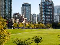 Early Autumn in Yaletown