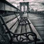 """Brooklyn Bridge Promenade"" by JessicaJenney"