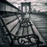 """Brooklyn Bridge Promenade"" by JessicaJenney"