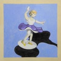 small dancer 2 Art Prints & Posters by federico cortese