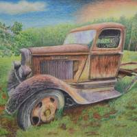 OldTruck Art Prints & Posters by Stephen Harriger