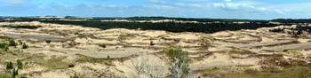 Lake Michigan Hills and Dunes