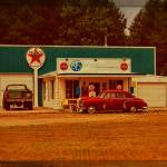 """Old Texaco Gas Station"" by Michelle1991"