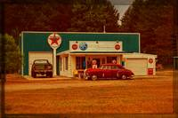 Old Texaco Gas Station