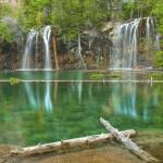 """Colorado Images - Hanging Lake, Colorado 3"" by RobGreebonPhotography"