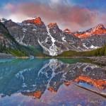 """Images from the Rocky Mountains - Moraine Lake 1"" by RobGreebonPhotography"