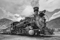 Colorado Black and White Images - D&S Railroad