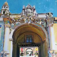 Main Gate Balboa Park San Diego California Art Prints & Posters by RD Riccoboni