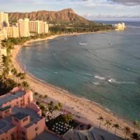 Diamond Head, Waikiki, Hawaii Art Prints & Posters by Joel Carlson