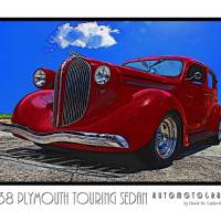 1938 Plymouth Touring Sedan Art Prints & Posters by David Caldevilla