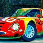 """1965 Alfa Romeo Giulia TZ2"" by ArtbySachse"