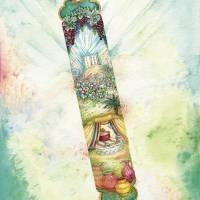 Mezuzah - Shavuot Art Prints & Posters by Michoel Muchnik