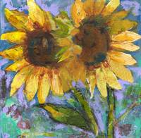 Sunflower Lovers by Miriam Schulman