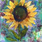 """Sunflower Sunday by Miriam Schulman"" by schulmanart"