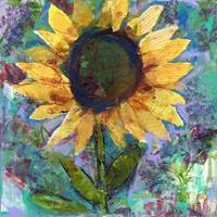 Sunflower Sunday by Miriam Schulman