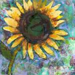 """Sunflower Saturday by Miriam Schulman"" by schulmanart"