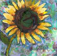 Sunflower Saturday by Miriam Schulman