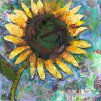 Sunflower Saturday by Miriam Schulman Art Prints & Posters by Miriam Schulman