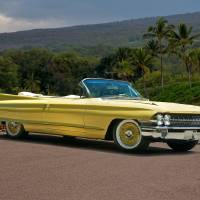 1961 Cadillac Series 62 Convertible Art Prints & Posters by Dave Koontz