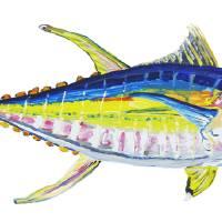 Yellowfin Tuna No. 4 Art Prints & Posters by Christina Hewson