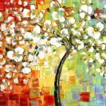 """""""Tree of Joy"""" by modernhouseart"""