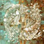 """Koi Fish"" by modernhouseart"
