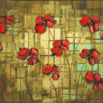 """poppies"" by modernhouseart"