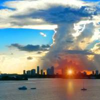 Mushroom Cloud Over Miami Art Prints & Posters by John Thompson
