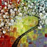 """Cherry Blossom"" by modernhouseart"