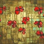 """""""poppies"""" by modernhouseart"""