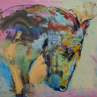 Horse Study Art Prints & Posters by Michael Creese