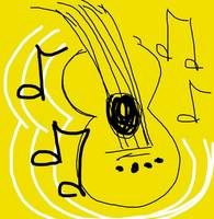 My Guitar - Anna's digital art #6